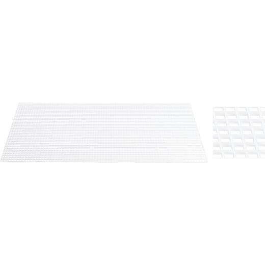 Plaskolite 2 Ft. x 4 Ft. x 3/8 In. Egg Crate White Styrene Light Panel