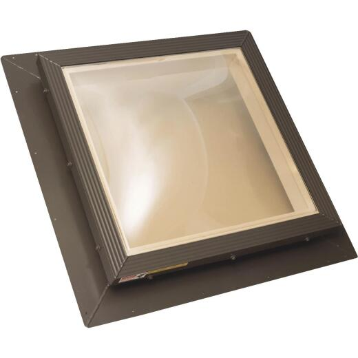 Kennedy Skylights 24 In. x 24 In. Bronze Hurricane Approved Skylight
