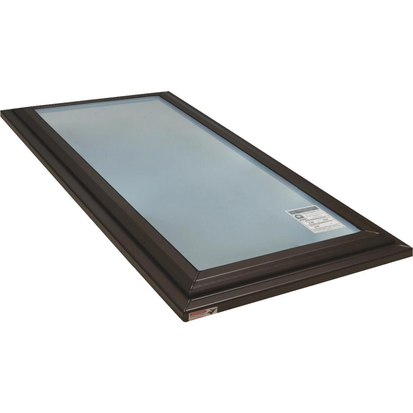 Kennedy Skylights 24 In. x 48 In. Bronze Fixed Glass Skylight Image 1