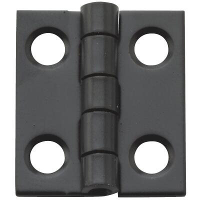 National 3/4 In. X 5/8 In. Oil Rubbed Bronze Narrow Hinge (4-Pack)