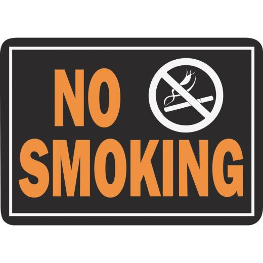 Hy-Ko Aluminum Sign, No Smoking
