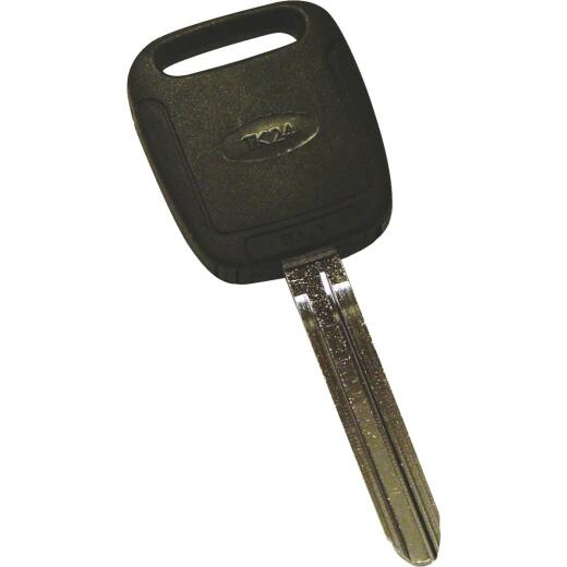 Hy-Ko Toyota Nickel Plated Programmable Chip Key