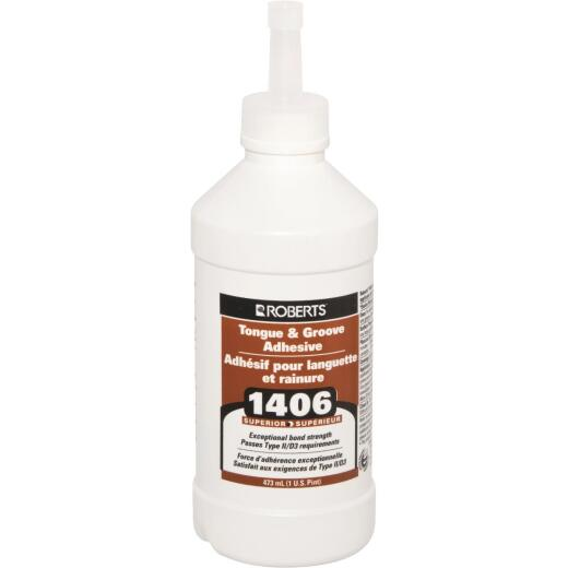 Roberts Tongue and Groove Wood Floor Adhesive, Pt.
