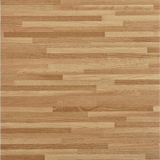 Home Impressions Maple Strip 12 In. x 12 In. Vinyl Floor Tile (45 Sq. Ft./Box)