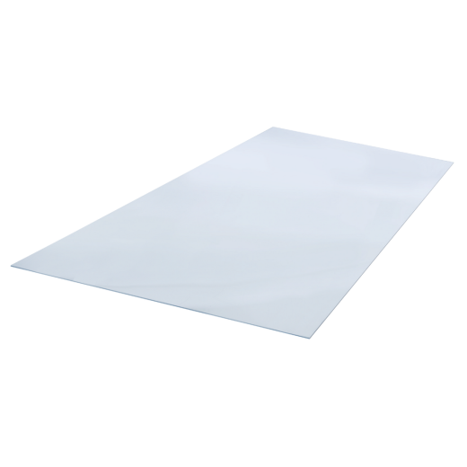 "Plaskolite OPTIX 20"" x 32"" x 0.100 (1/10"") Clear Acrylic Sheet"