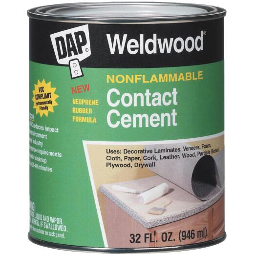 DAP Weldwood Qt. Nonflammable Contact Cement