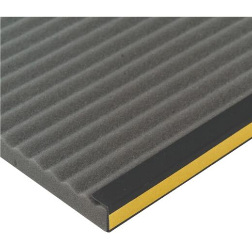 M-D Side 9 In. W. x 18 In. H. Gray Air Conditioner Insulating Panel (2-Pack)