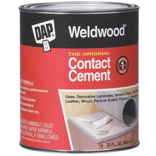 DAP Weldwood Qt. The Original Contact Cement