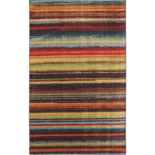 Mohawk Home Boho Stripe Multi-Color 30 In. x 46 In. Accent Rug