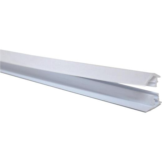 Frost King 3/4 In. x 60 In. White Plastic Molding Strip