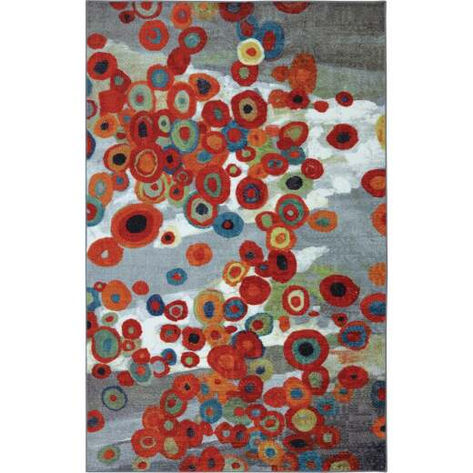 Mohawk Home Tossed Floral Multi-Color 30 In. x 46 In. Accent Rug