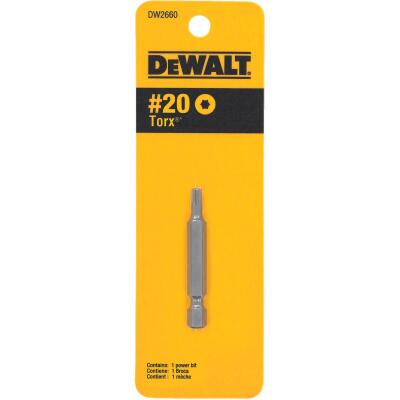 DeWalt T20 TORX 2 In. 1/4 In. Power Screwdriver Bit