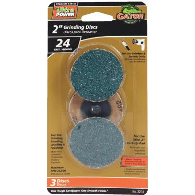 Gator Surface 2 In. 35 Grit Grinding Surface Conditioning Sanding Disc (3-Pack)