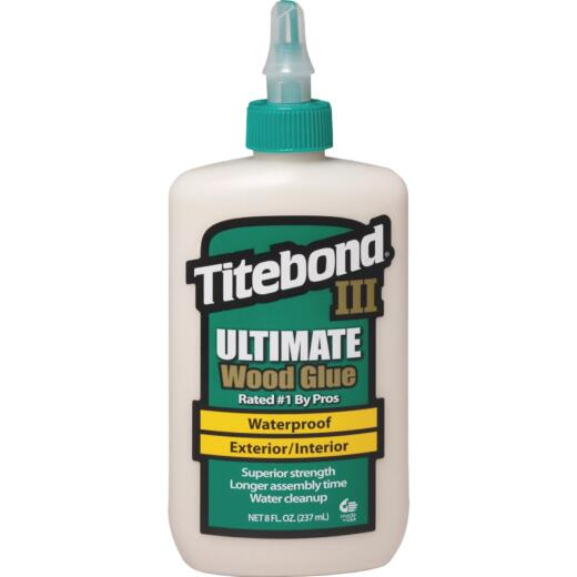 Titebond III 8 Oz. Ultimate Waterproof Wood Glue