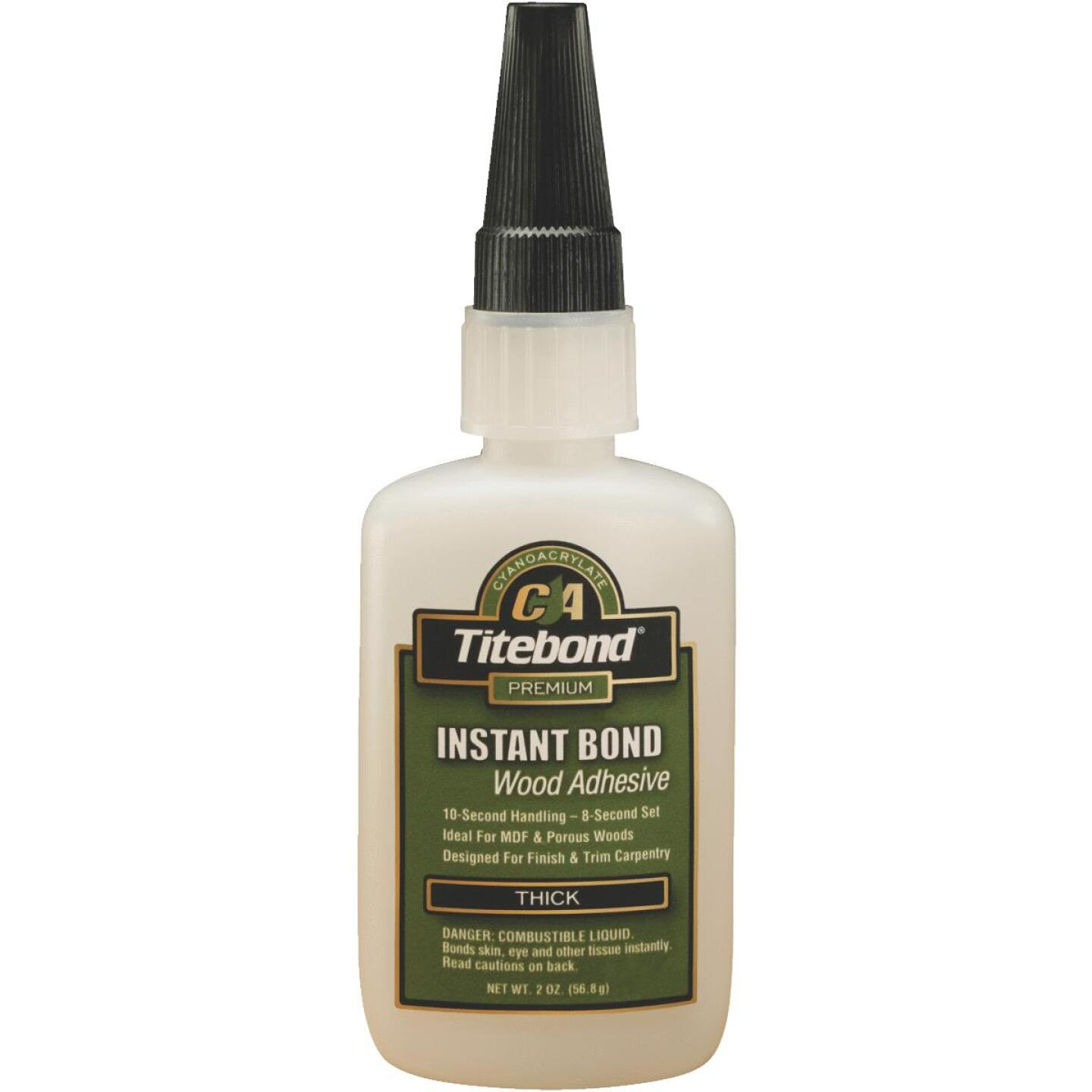 Titebond 2 Oz. Instant Bond Thick Viscosity CA Wood Glue Image 1