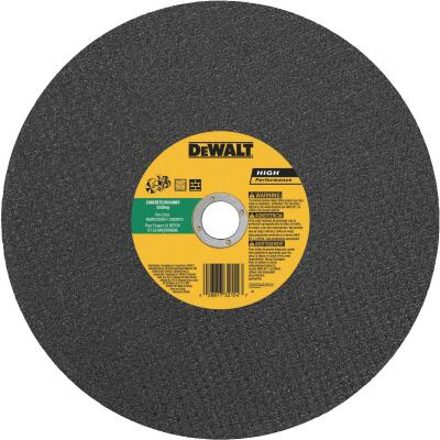 DeWalt High Performance 14 In. x 1/8 In. x 20mm Type 1 Masonry Cut-Off Wheel