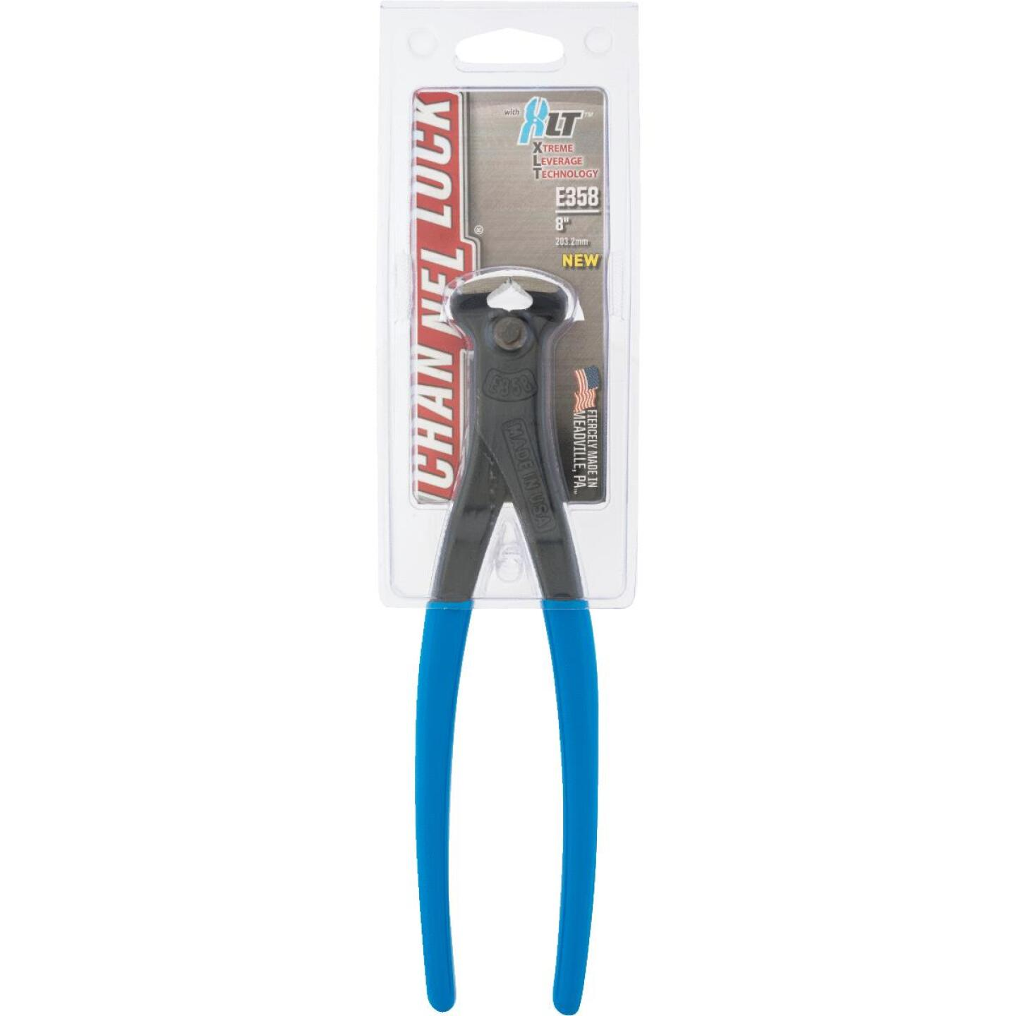 Channellock 8 In. E Series High Leverage Cutting Nipper Image 2