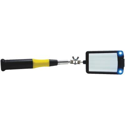 General Tools 2 In. x 3 In. Lighted Rectangular Inspection Mirror