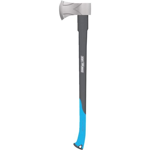 Channellock Single Bit Premium Axe with 34 In. Fiberglass Handle
