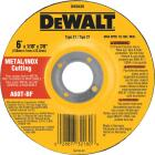 DeWalt HP Type 27, 6 In. Cut-Off Wheel Image 1
