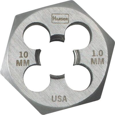 Irwin Hanson 10 mm - 1.0 Metric Hex Die