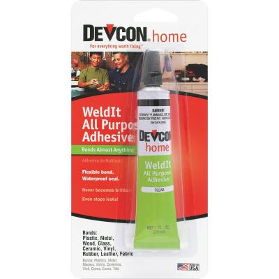 Devcon All Purpose 1 Oz. WeldIt Household Cement Adhesive