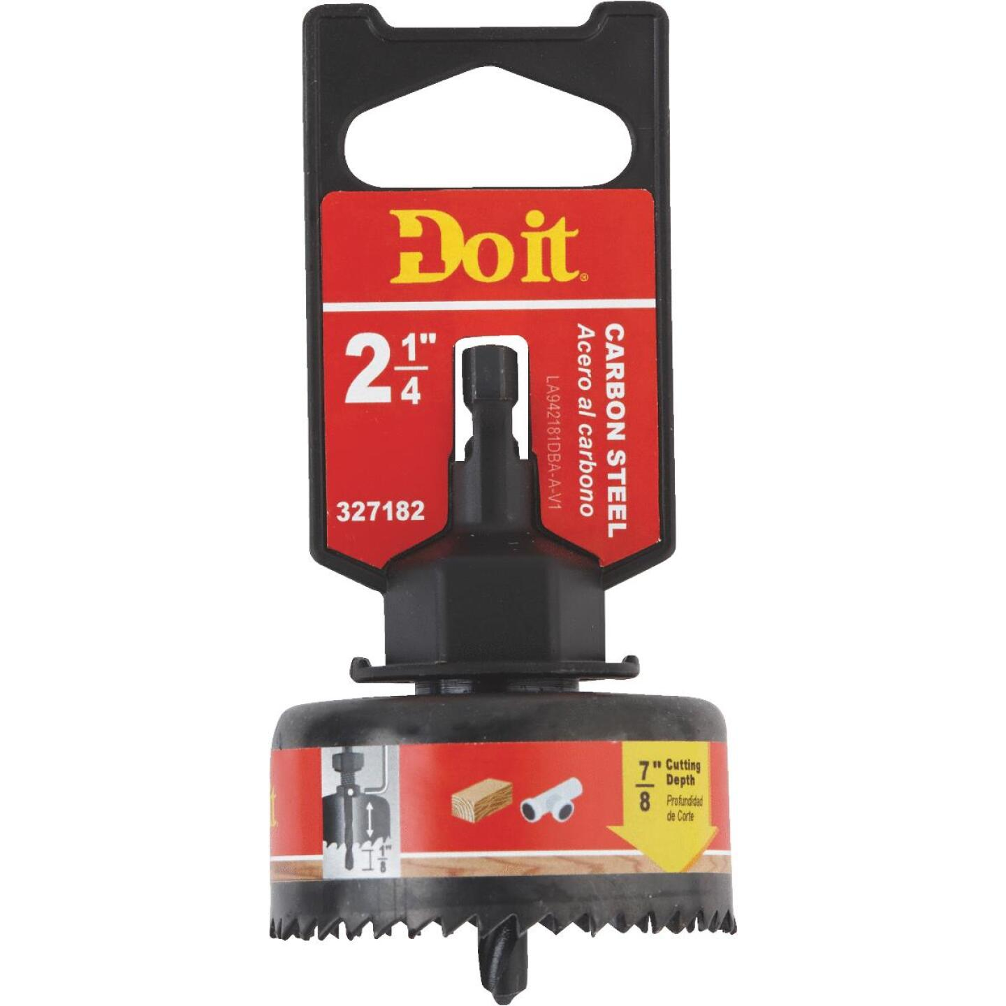 Do it 2-1/4 In. Carbon Steel Hole Saw with Mandrel Image 1