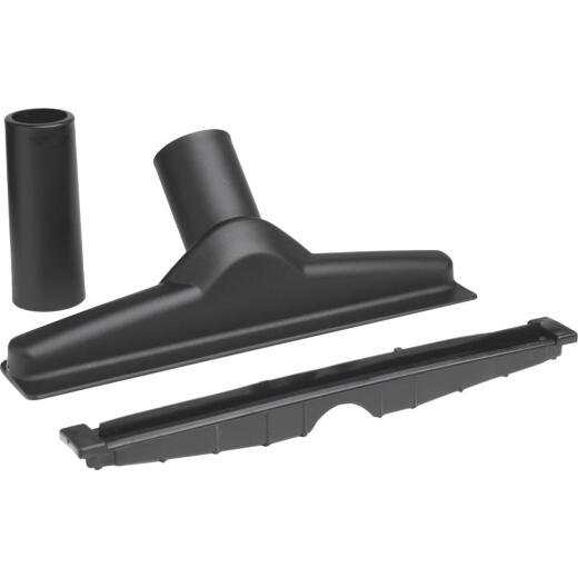 Shop Vac 1-1/2 In. x 10 In. Black Plastic Squeegee Vacuum Nozzle with 1-1/4 In. Adapter