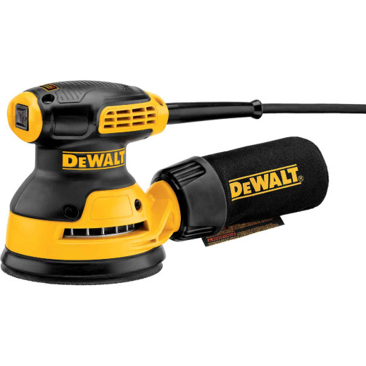 DeWalt 5 In. 3.0A Random Orbit Sander