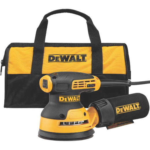 DeWalt 5 In. 3.0A Variable Speed Random Orbit Sander