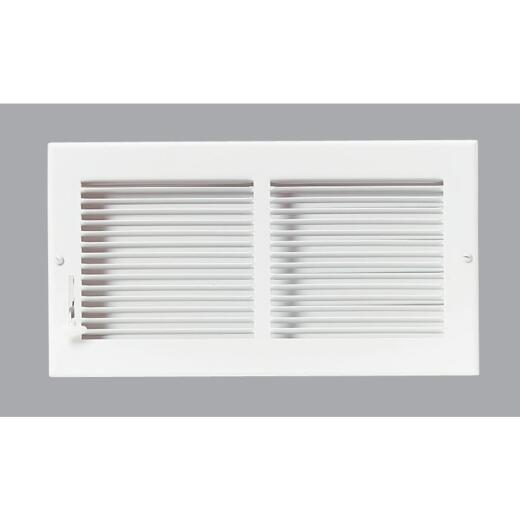 Accord 12 In. x 6 In. White Wall Register