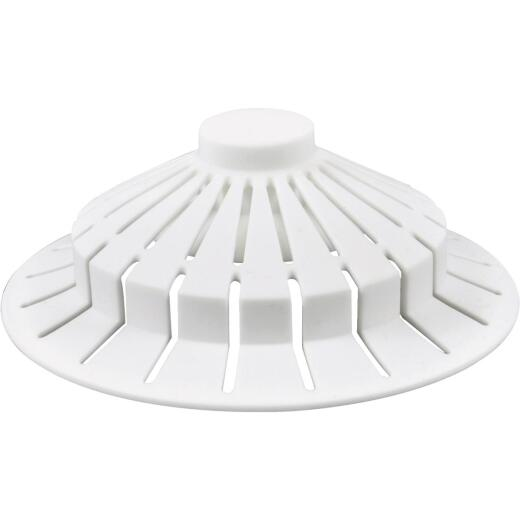 Danco Standard Size Suction Cup Silicone Tub Drain Strainer