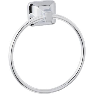 Home Impressions Vista Polished Chrome Towel Ring
