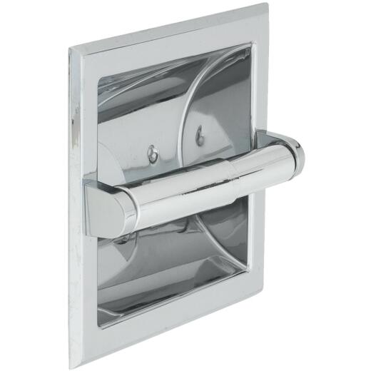 Home Impressions Vista Chrome Recessed Toilet Paper Holder