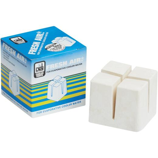 """Dial 3"""" Square Odorless Evaporative Coolers Solid Air Freshener"""