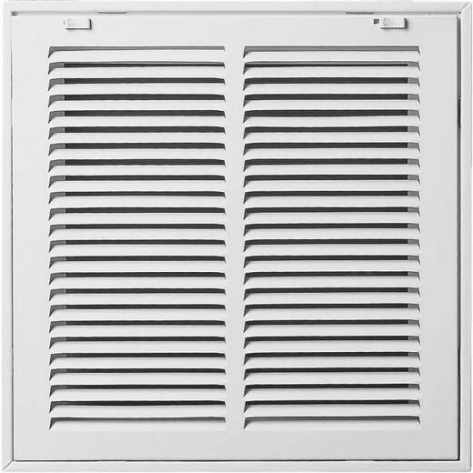 Accord 25 In. x 20 In. White Filter Grille