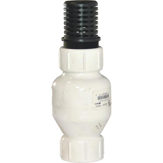 NDS KBI 1-1/2 In. PVC Spring Check Valve-Foot Valve