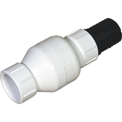 NDS KBI 2 In. PVC Spring Check Valve-Foot Valve