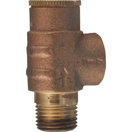 Star Water Systems 1/2 In. 70 PSI Pressure Relief Valve