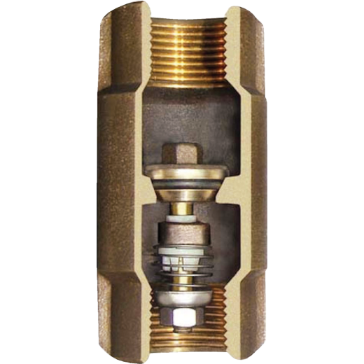Simmons 1-1/4 In. Silicon Bronze Lead Free Check Valve