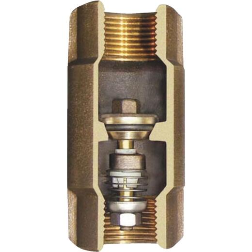 Simmons 2 In. Silicon Bronze Lead Free Check Valve