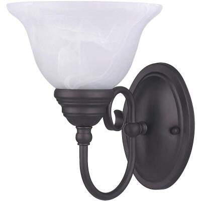 Home Impressions Julianna 1-Bulb Oil Rubbed Bronze Wall Light Fixture