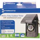 Intermatic 15A Resistive Or Tungsten 120V 1800W Black Plug-In Outdoor Timer Image 3