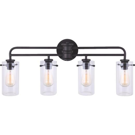 Home Impressions Albany 4-Bulb Oil Rubbed Bronze Bath Light Bar