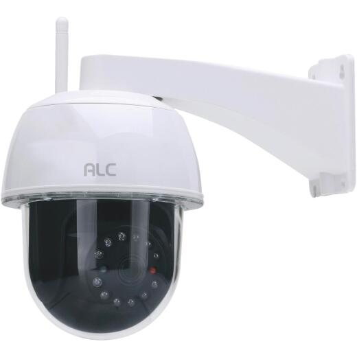 ALC Wireless SightHD Outdoor White Pan-Tilt Security Camera