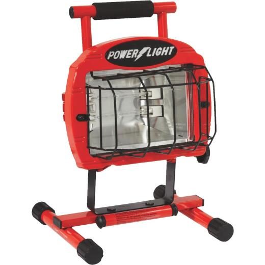Designers Edge Power Light 9600 Lm. Halogen H-Stand Portable Work Light