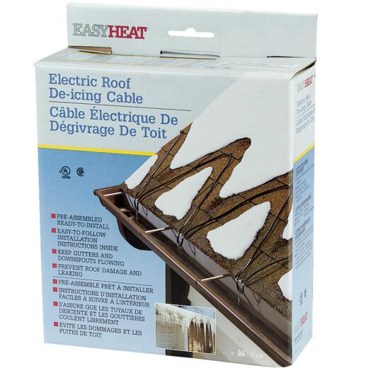 Easy Heat 100 Ft. 120V 5W De-Icing Roof Cable