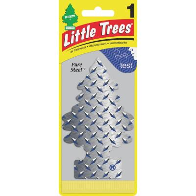 Little Trees Car Air Freshener, Pure Steel
