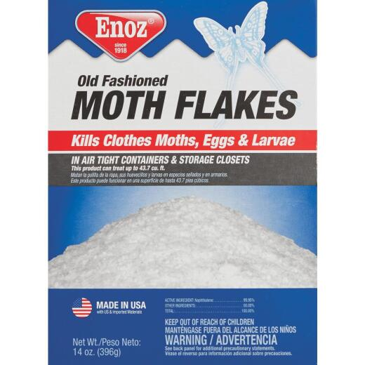 Enoz 14 Oz. Old Fashioned Naphthalene Moth Flakes