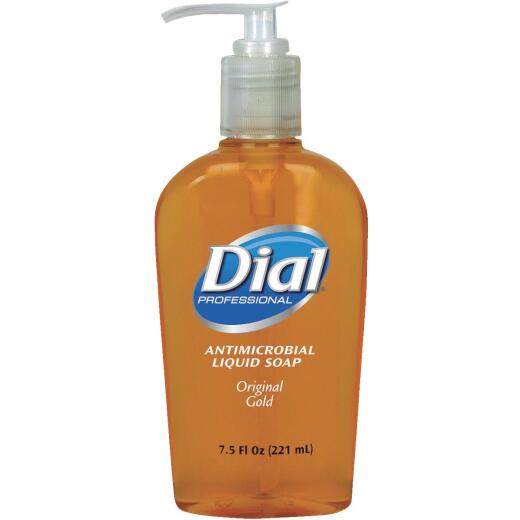 Dial Professional 7.5 Oz. Gold Antimicrobial Liquid Hand Soap